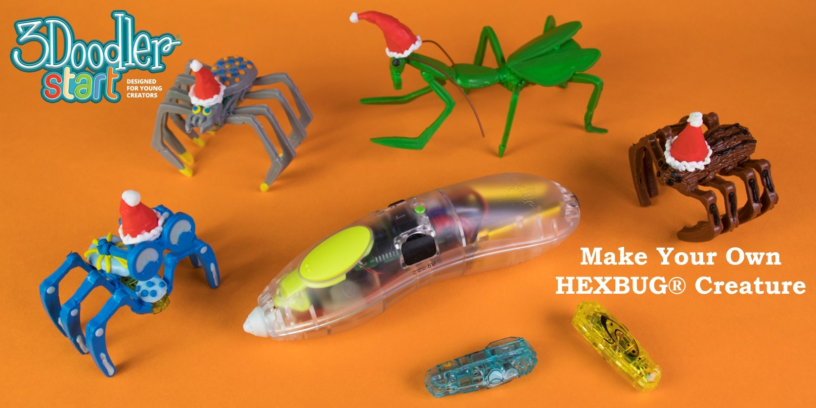 3Doodler Start Hexbug Creature